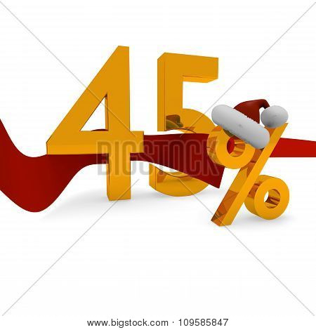 45 Percent Christmas Discount