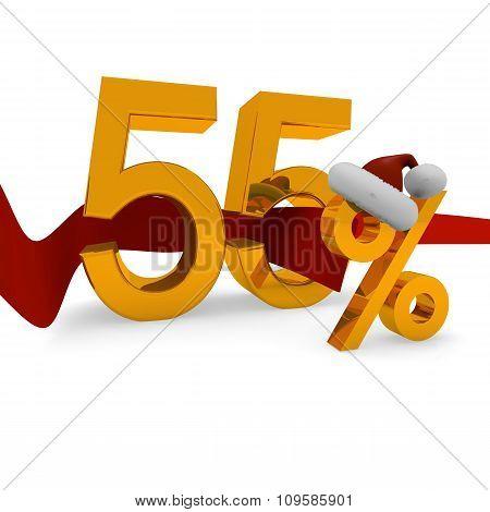 55 Percent Christmas Discount