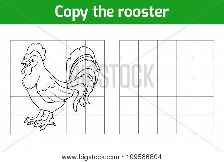 Copy The Picture: Rooster