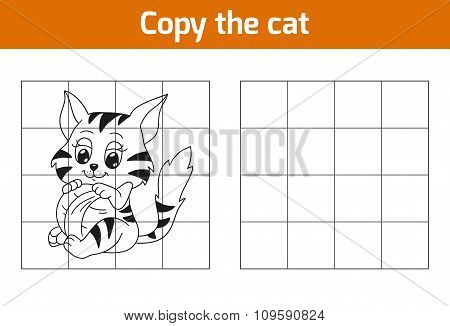 Copy The Picture: Cat