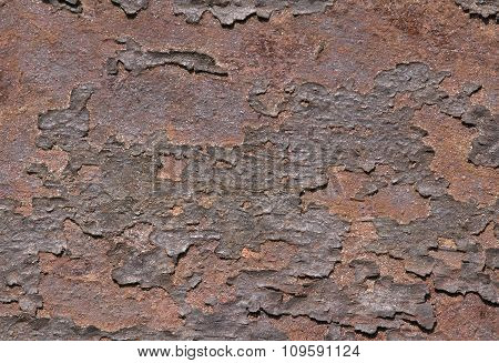 Rust on metal, texture