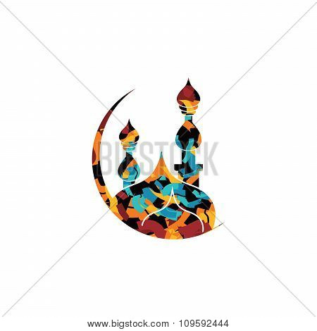 Islamic Abstract Calligraphy Theme