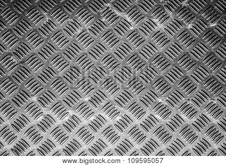 Old steel diamond plate texture