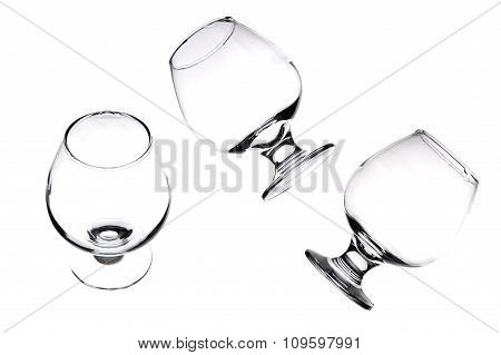 Three Glasses For Whiskey.
