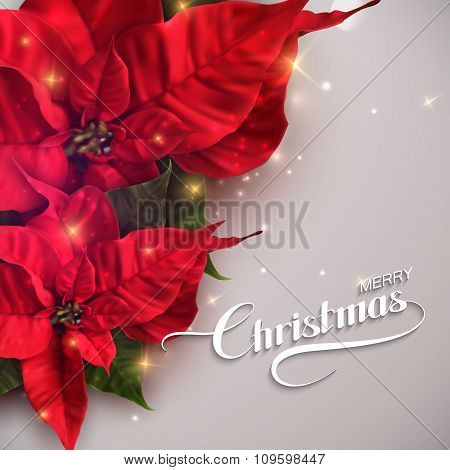 Merry Christmas. Vector Holiday Illustration