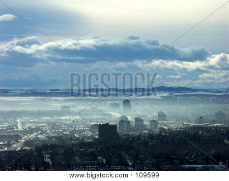 Aerial View Calgary