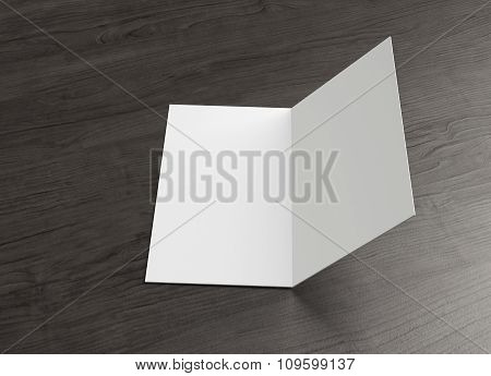 Leaflet Inside Left Page Open