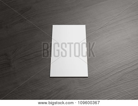 Name Card For Business Presentation Vertical Center