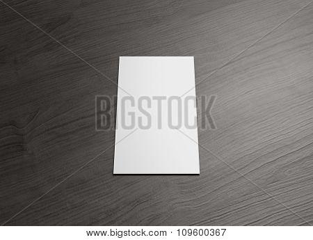 Name Card For Business Presentation Vertical Center