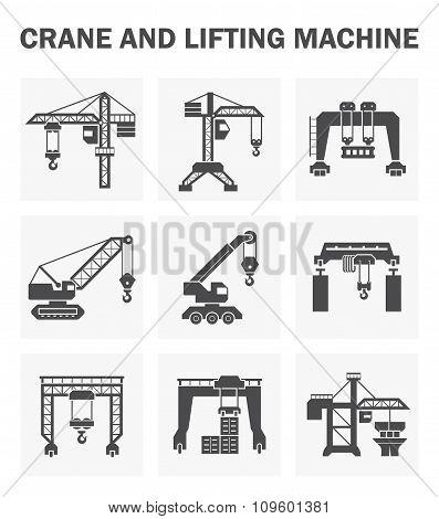 Crane Icons Sets