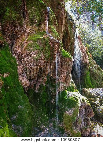 Source Of The River Cuervo, Cuenca, Castilla La Mancha, Spain