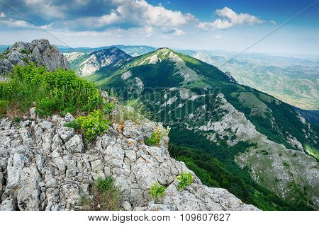 View From The Cliff, Beautiful Landscape