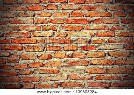 Interesting Brick Wall Texture