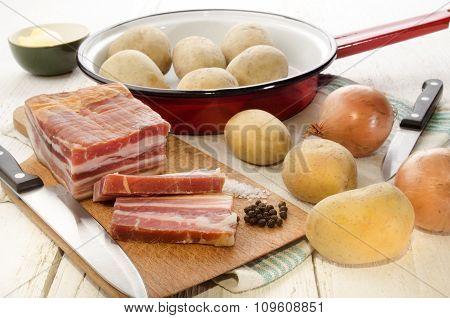 Ingredients To Make Fried Potatoes