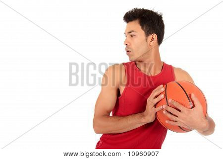 Nepalese Man Basketball Player