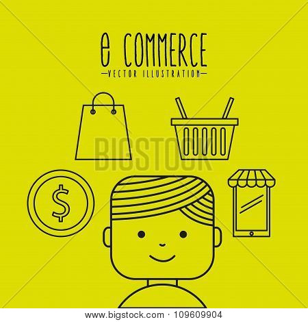e-commerce icons design