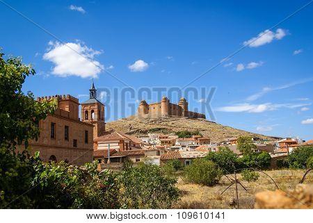 Castle  Lacalaora, Granada, Andalusia, Spain