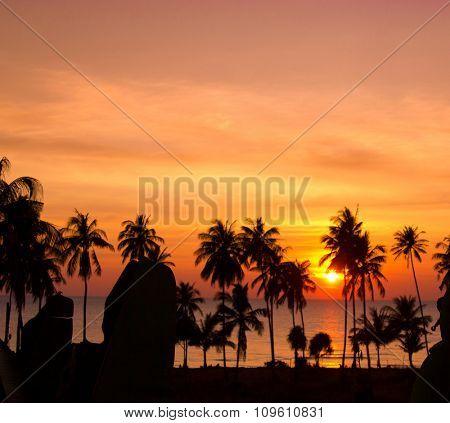 Burning Skies Sunset Divine