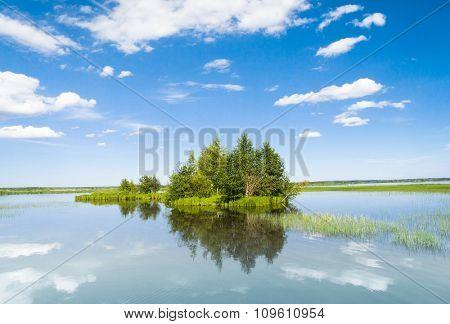 Lake Serenity Pristine Nature