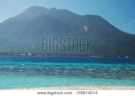 Hibok-hibok Volcano and Mt. Vulcan in Camiguin, Philippines