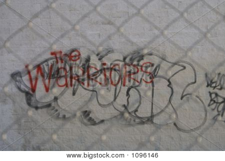Urban Street Gang Graffiti