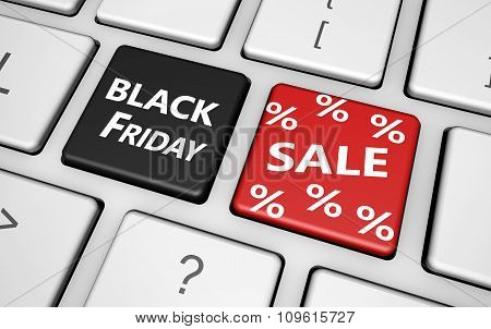 Black Friday Shopping Sale Concept