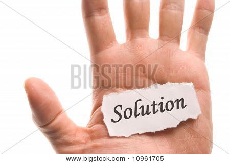 Solution Word In Hand