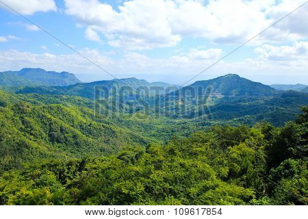 Landscape Of Layer Mountain, Phetchabun ,thailand
