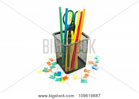 Thumbtacks And Other Office Stationery