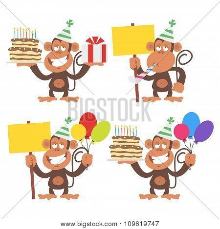 Monkey and Birthday