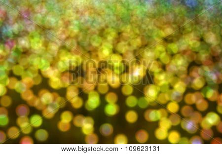 Abstract Background With Bokeh Lights.