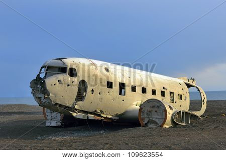 Solheimasandur Plane Wreck In South Iceland