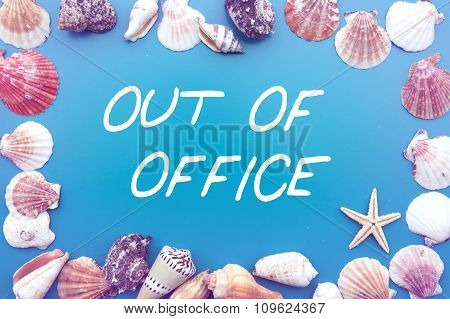 'Out Of Office' With Seashells