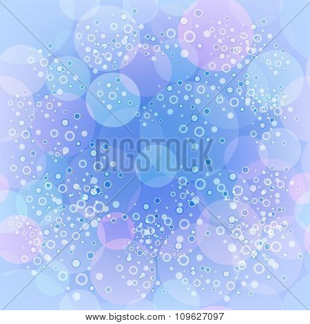 Vector abstract blurred background
