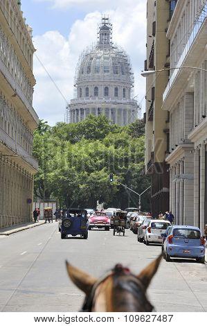 Havana. Capitol Hill.
