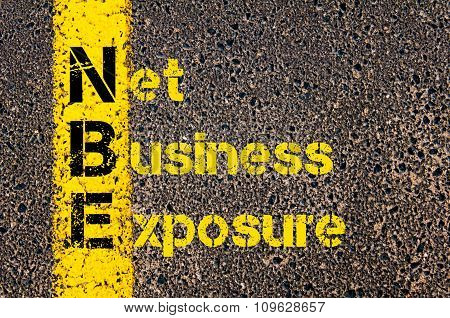 Business Acronym Nbe As Net Business Exposure