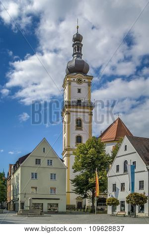 St. Michael Church, Weiden In Der Oberpfalz, Germany