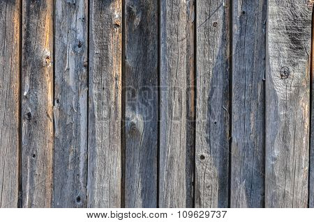 vertical grey aged wooden boards plank background