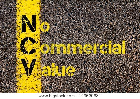 Business Acronym Ncv As No Commercial Value
