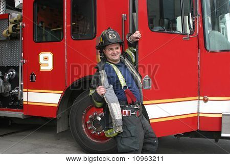Playful Firefighter