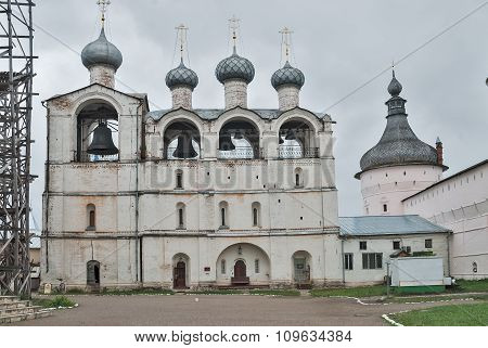 Assumption Cathedral belfry in Rostov the Great