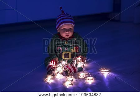 Santa Helper Baby