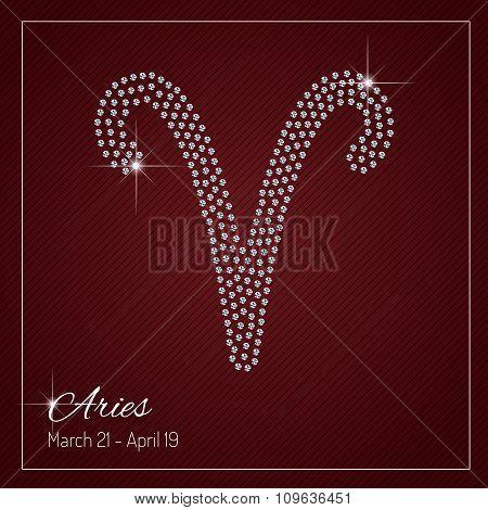 Glamour Zodiac Sign Design.