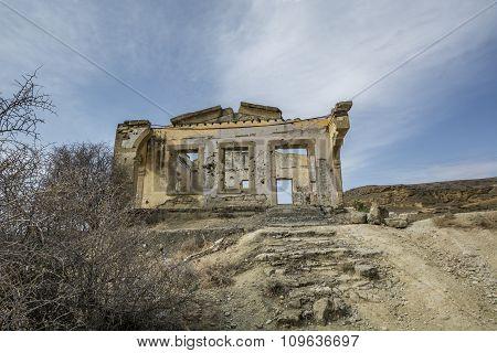 Ruins Of Agios Sozomenos  Cyprus