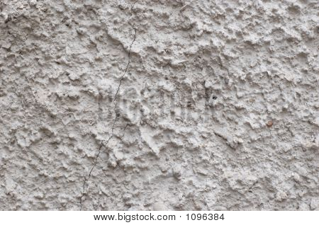 Rough Cement Texture With Crack