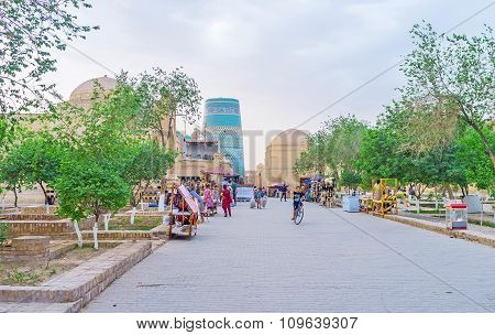 The Parks In Khiva
