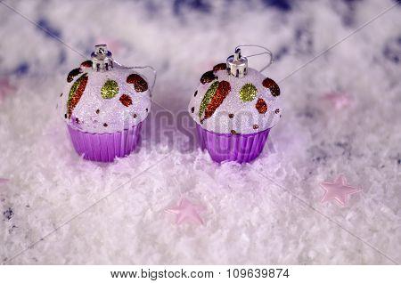 Christmas Toys Christmas Muffins.