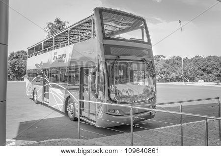Bus Trip To Itaipu Dam In Brazil