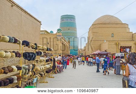 The Tourists In Khiva