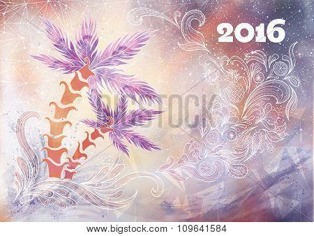 Creative New Year Background